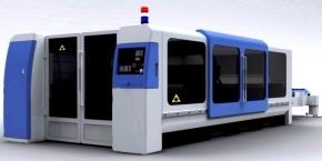 Установка для лазерной резки металла с ЧПУ серии RS